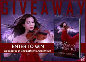Luthier's Apprentice Giveaway Graphic